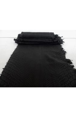 art. 22 PITONE VERO opaco decolorato smerigliato var.1 nero