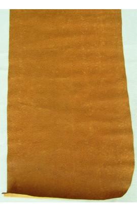 art.33  FIORI stampa su vitello var.4 cognac