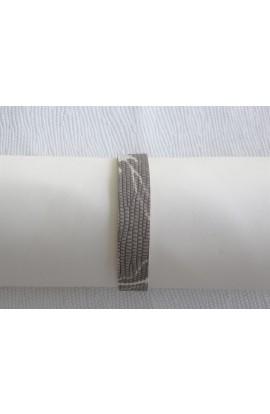 art. 10060 BRACCIALETTO mm.14 MACULATO var.12 grigio polvere (1)