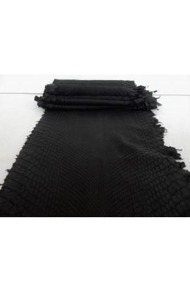 art. 22 PITONE VERO opaco decolorato smerigliato var.1 nero (1)