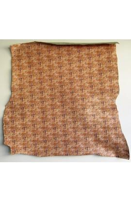 art. 36 INDIAN anticato effetto decorativo cracklè var.81 arancio mattone