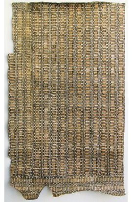 art. 42 COLOSSEO var.103 nocciola con rilievi beige-verde militare