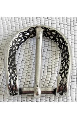 Fibbia Standard F 31 mm.25 argento vecchio free
