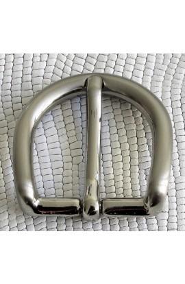 Fibbia Standard G 62 mm.25 nikel satinato free