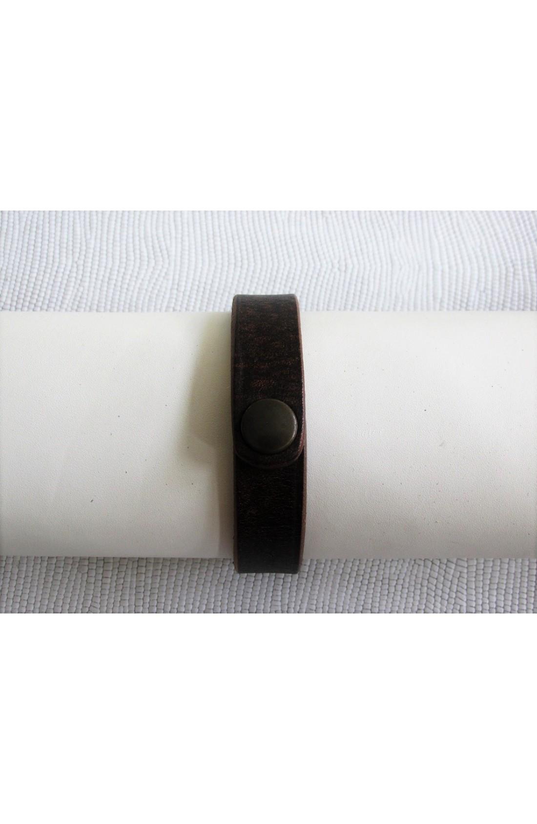 art. 10100 BRACCIALETTO mm.17 KANSAS CUOIO var.2 t.moro (2)