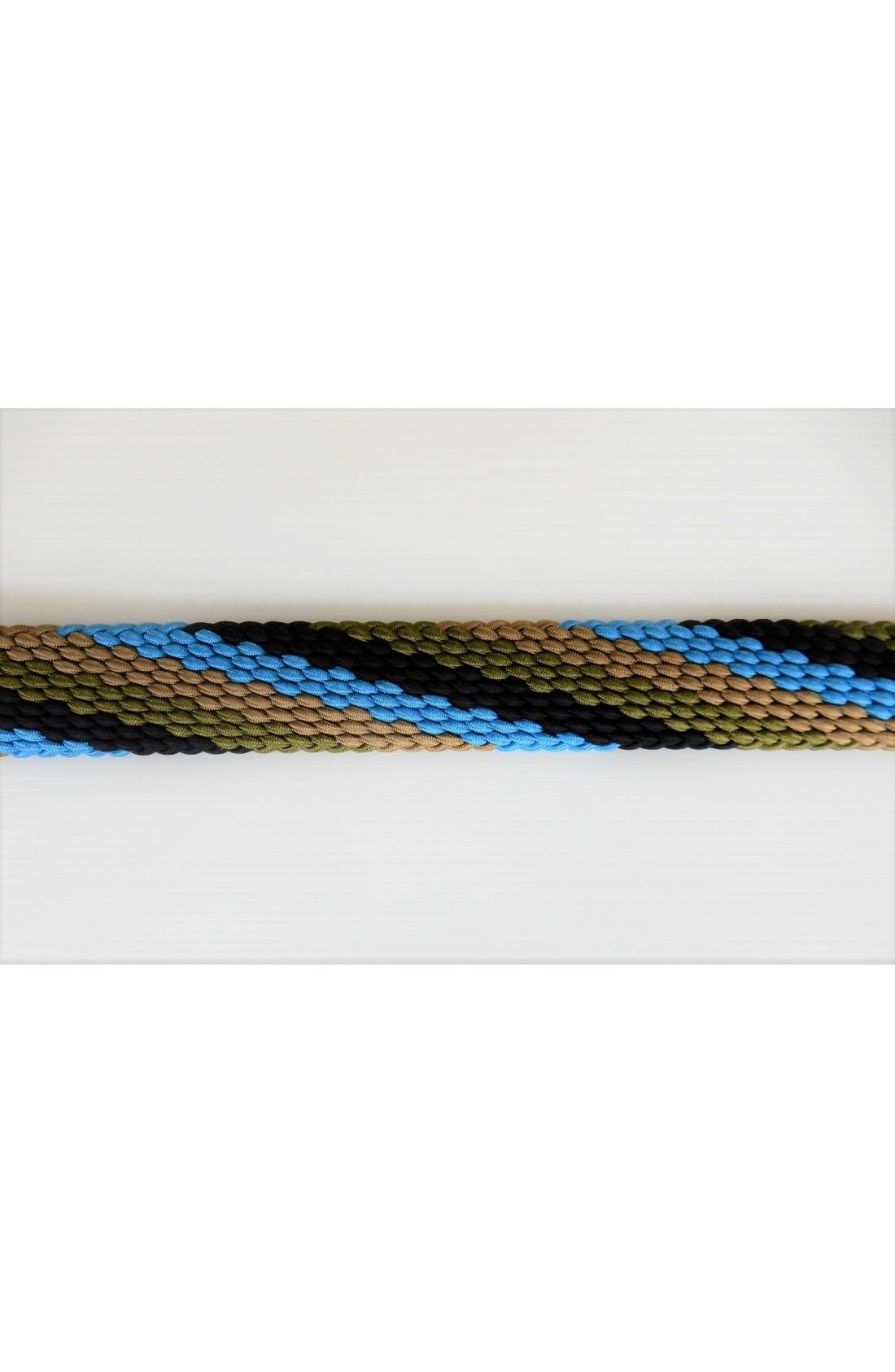 art. 97 INTRECCIO WAVES mm.35 col. azzurro - nocciola - verde militare - nero (2)