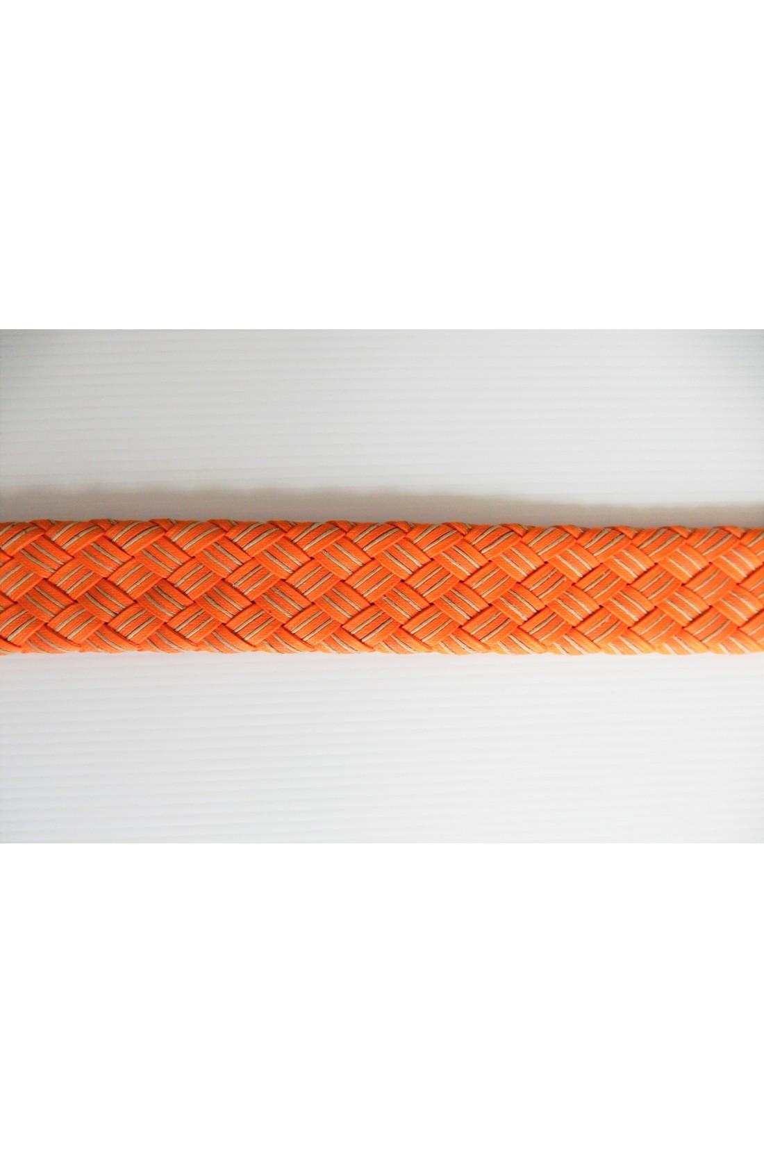 art. 99 INTRECCIO DUE RIGHE mm.40 col. arancione - taupe (3)