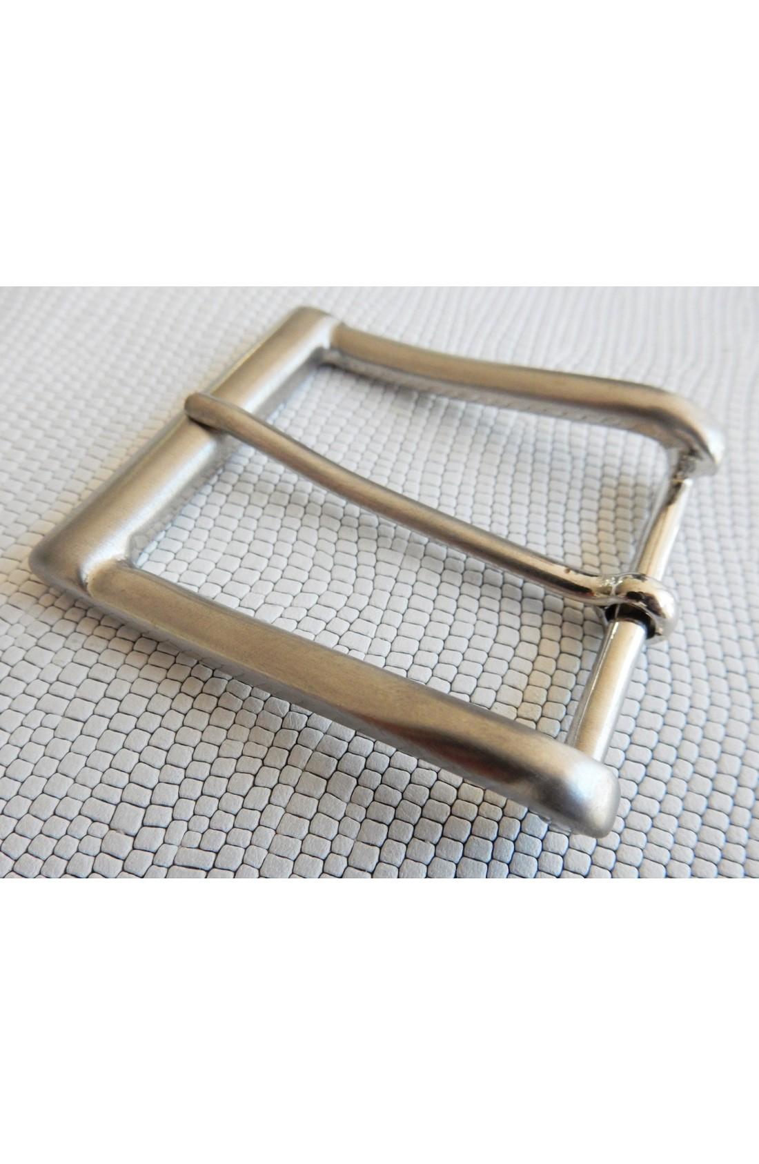 Fibbia Standard B 806 mm.40 nikel satinato (2)