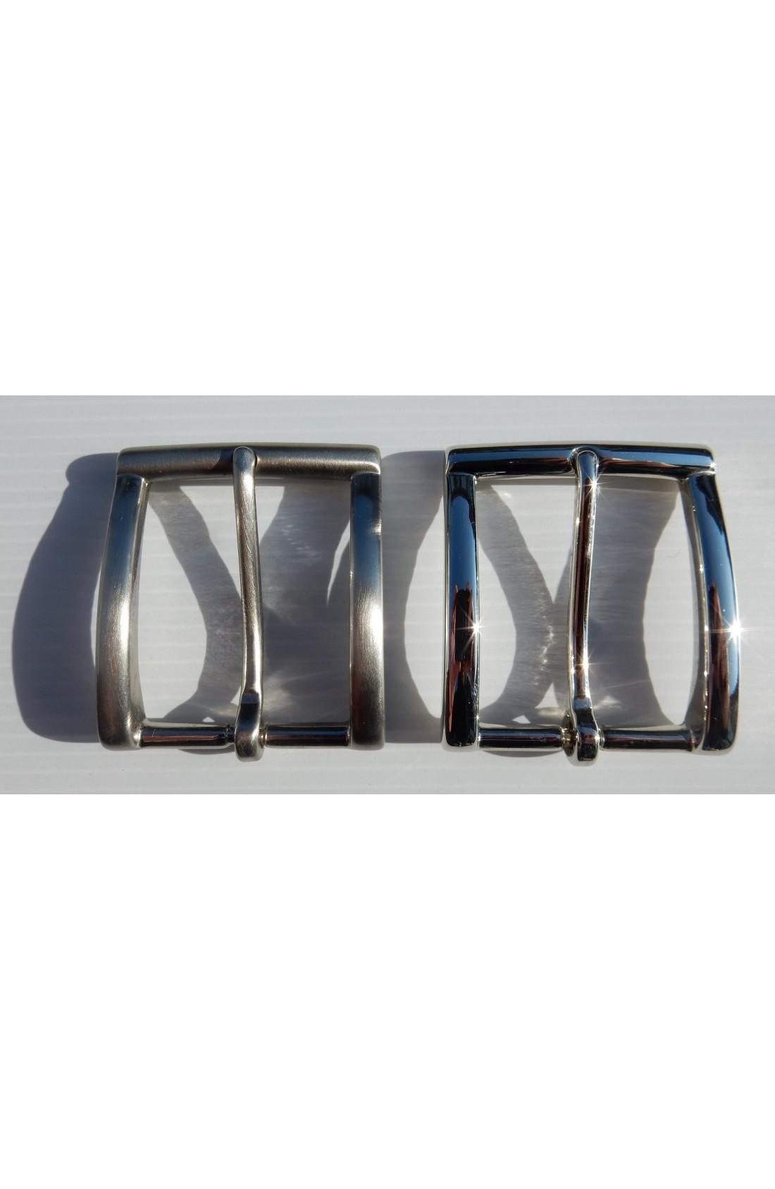 Fibbia Standard I 113 mm.35 nikel e nikel satinato (2)