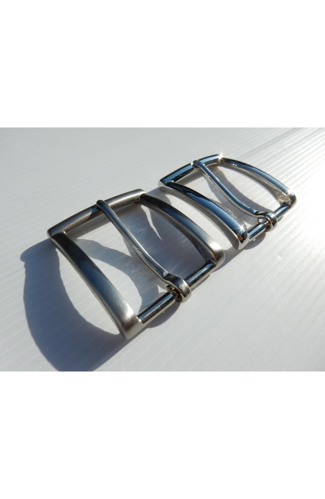Fibbia Standard I 113 mm.35 nikel e nikel satinato (3)