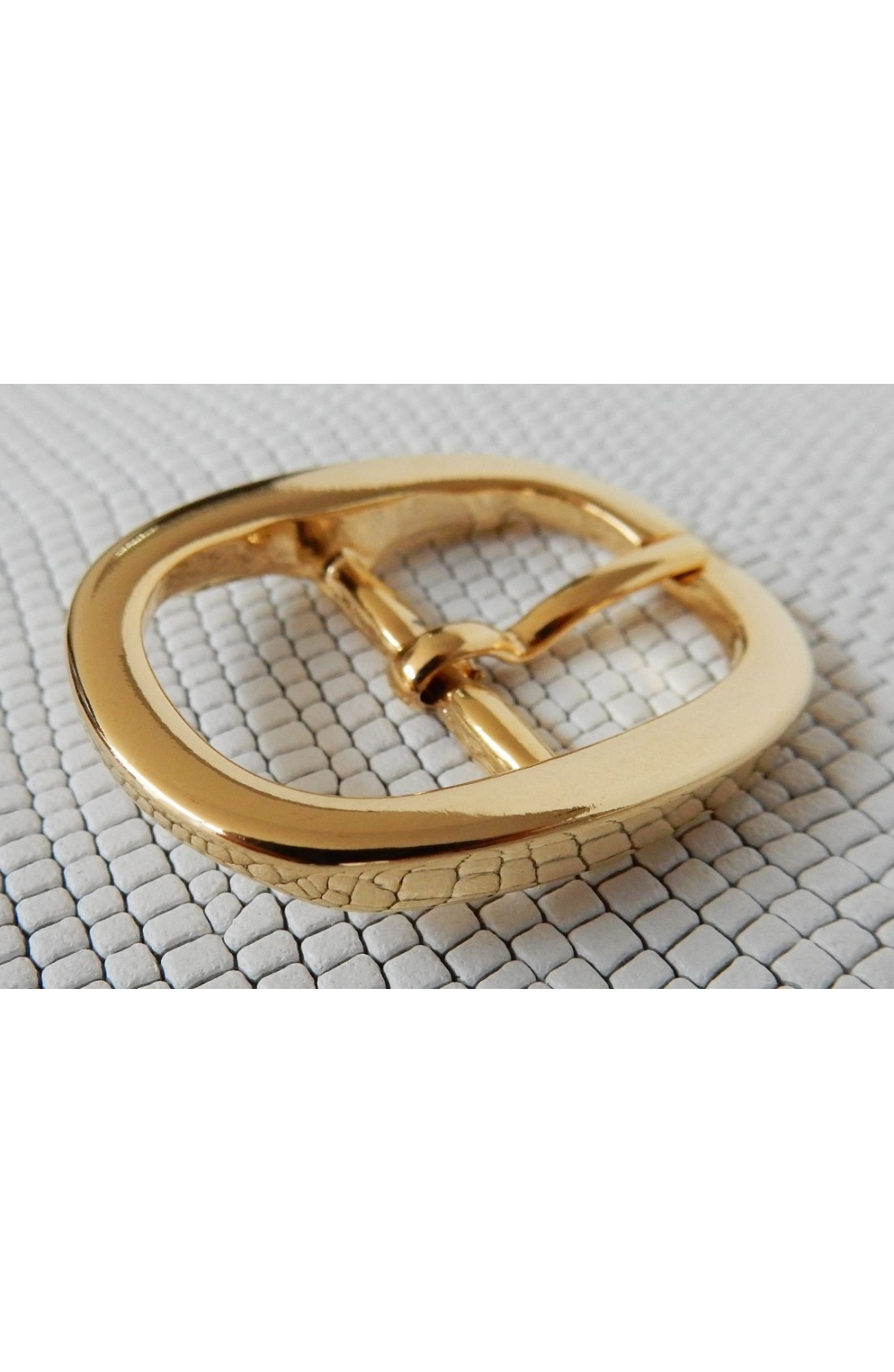 Fibbia Standard I 204 mm.20 oro lucido (2)
