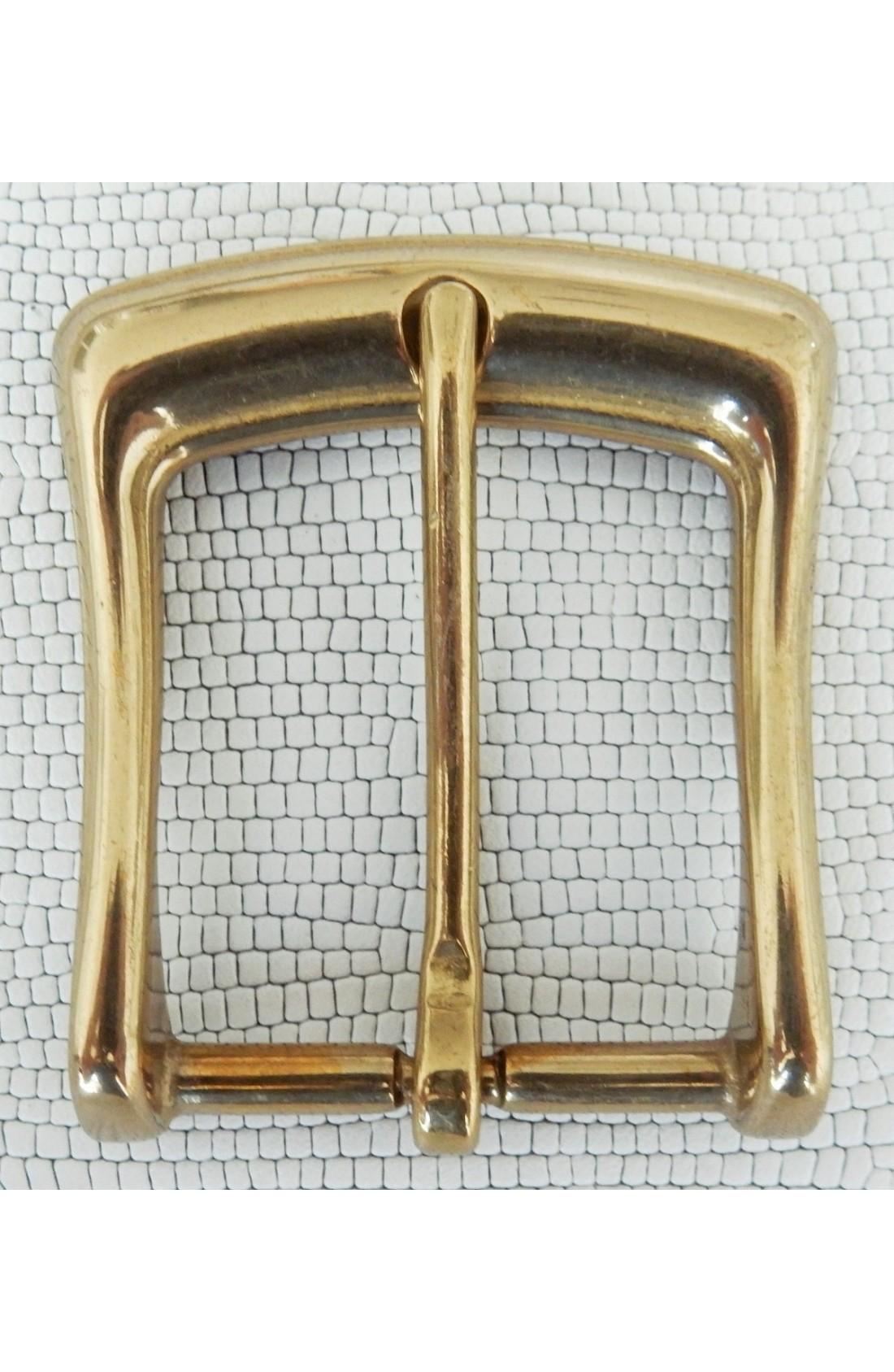 Fibbia Standard I 81 mm.35 ottone lucido (1)