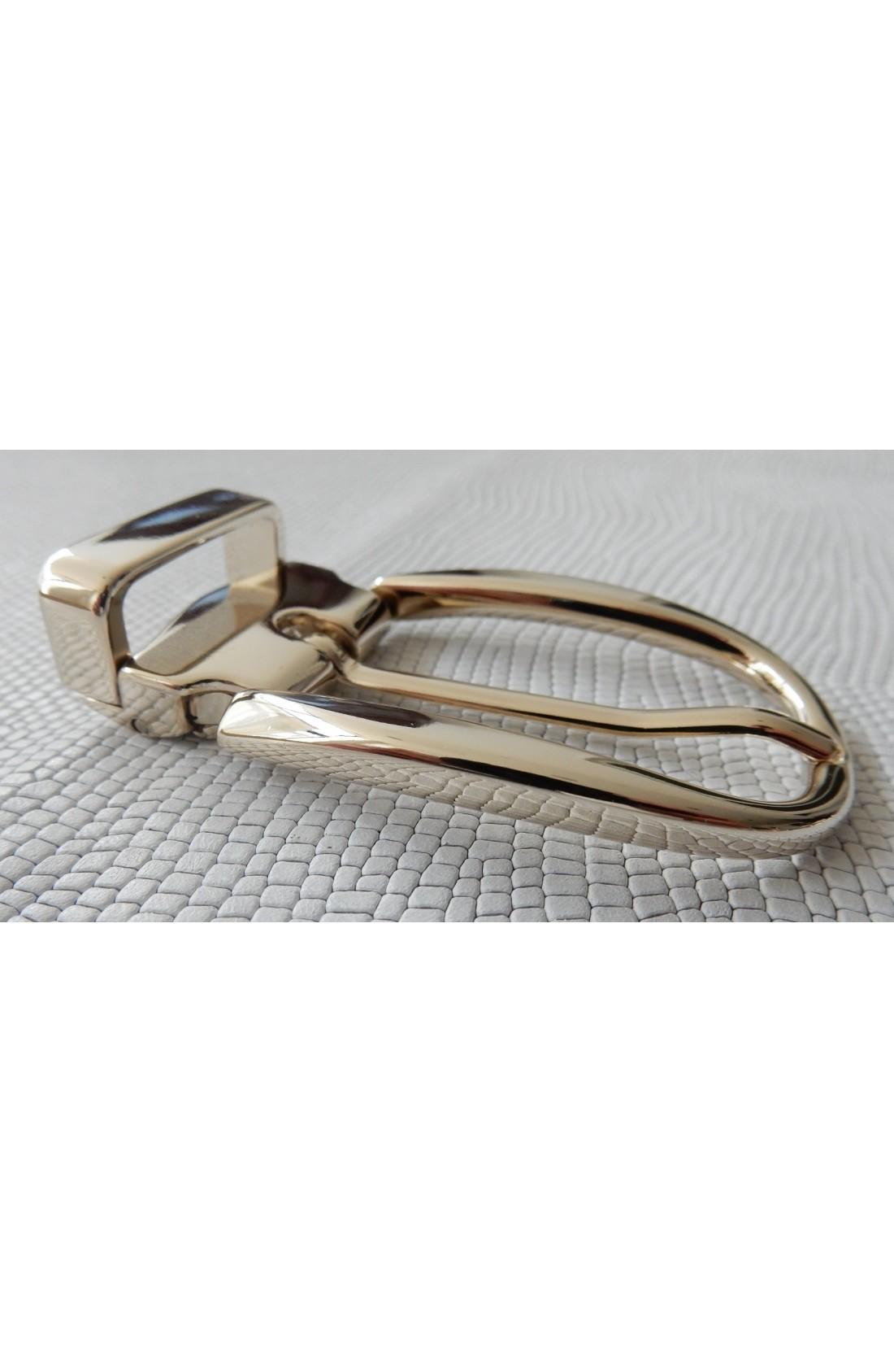 Fibbia Standard L 140 mm.25 oro chiaro (2)