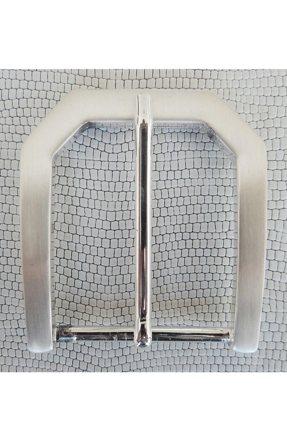 Fibbia Standard Z 48 mm.40 argento satinato (1)