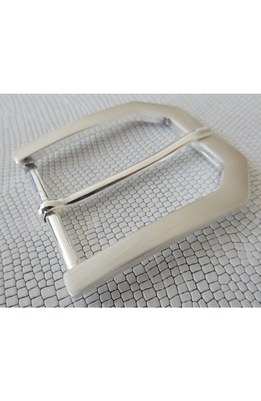 Fibbia Standard Z 48 mm.40 argento satinato (2)