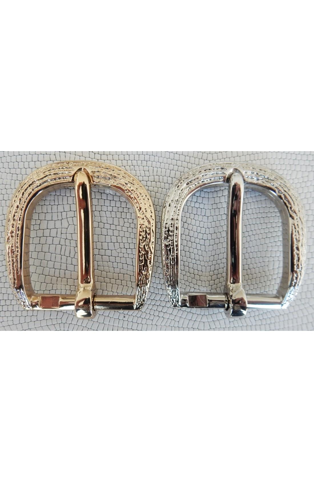 Fibbia Standard Z 51 mm.35 oro chiaro free + Fibbia Standard Z 51 mm.35 nikel free