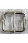 Fibbia Standard con rullo I 119 mm.35 nikel free